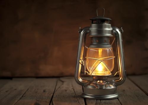 turpentine lamp