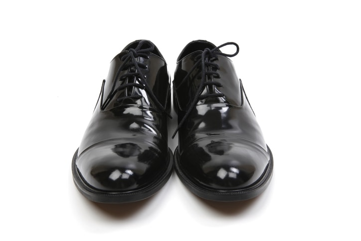 bicast leather shoes