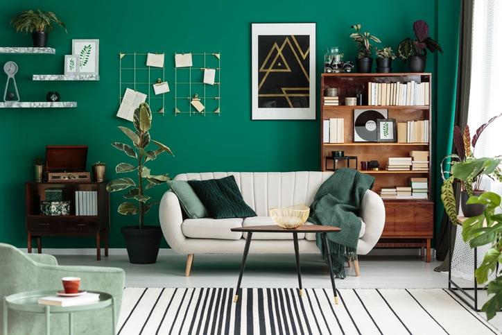 bicast leather sofa