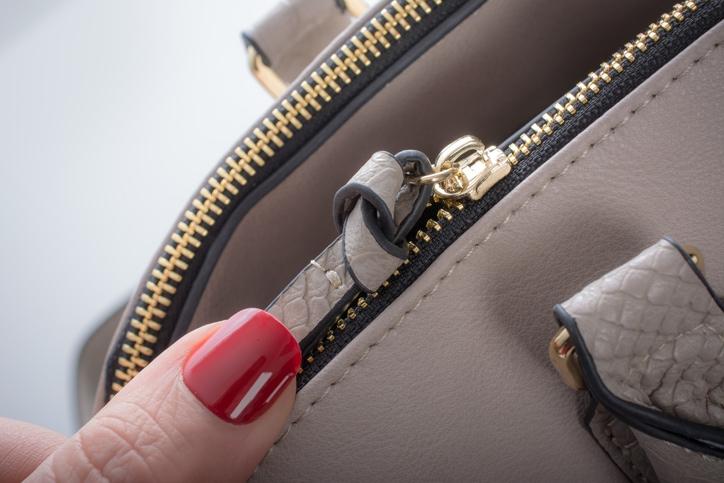 purse zipper