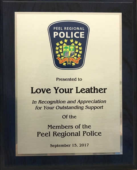 Proudly Cleaning Leather for Peel Regional Police