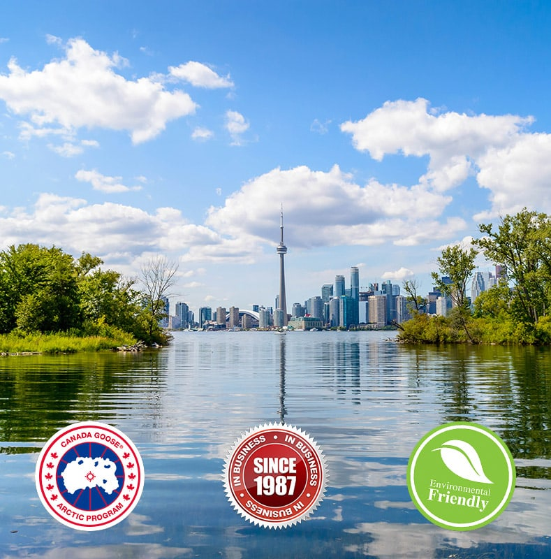 eco friendly canada goose jacket cleaning since 1987