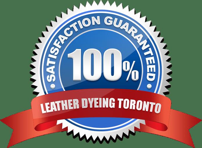 satisfaction guarantee leather dyeing toronto