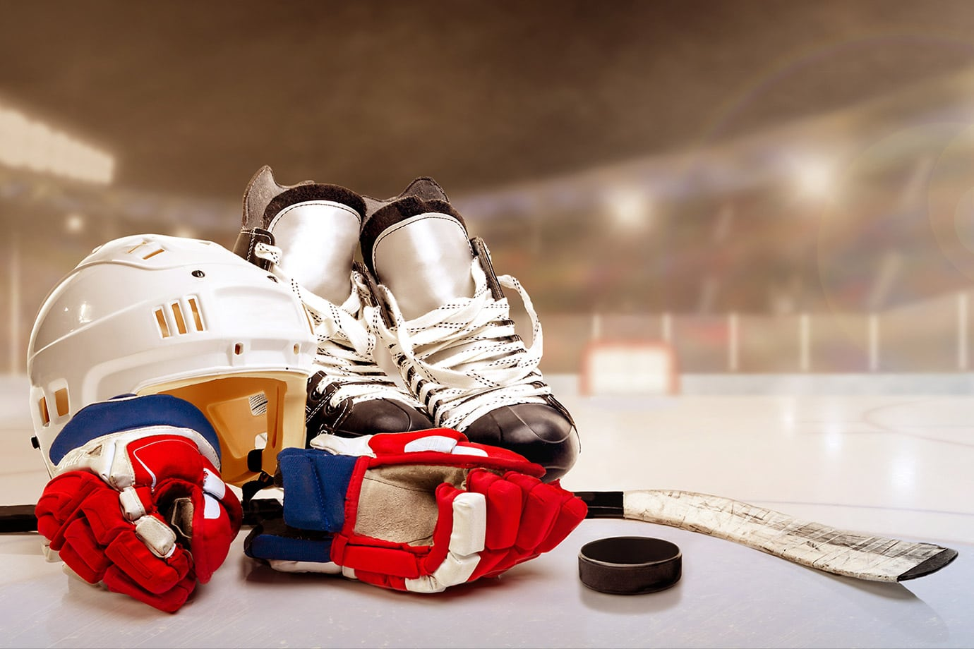 hockey equipment cleaning