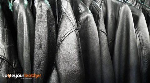 Black leather jacket cleainig toronto