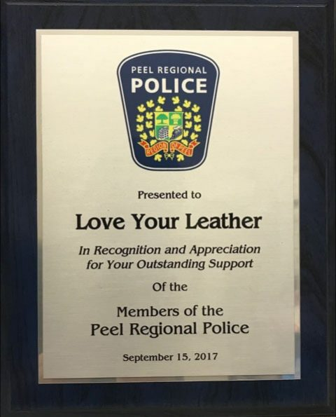 Leather cleaning for toronto police big