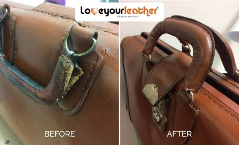 Leather handle repair toronto