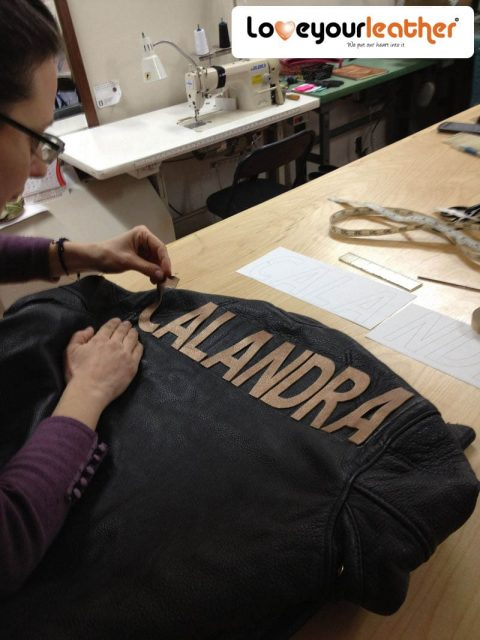 Leather jacket alterations big