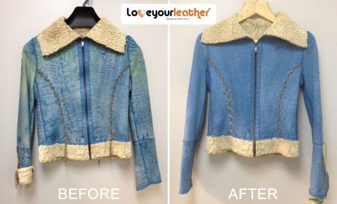 Leather jacket cleaning toronto