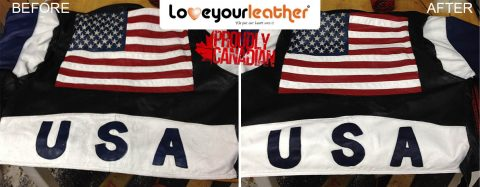 Leather jacket cleaning usa
